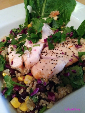 Extraordinary Organics - Quinoa Salad Plus Chicken